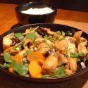 Piatto cucina vegetariana