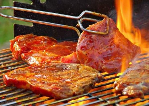 Carne grass feed alla griglia, attenzione alla cottura